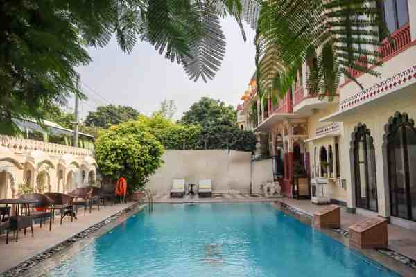 Shahpura House Hotel Jaipur Swimming pool