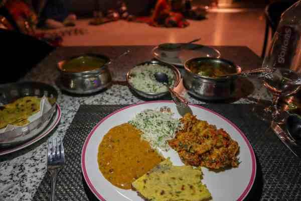 Shahpura House Hotel Jaipur Dinner
