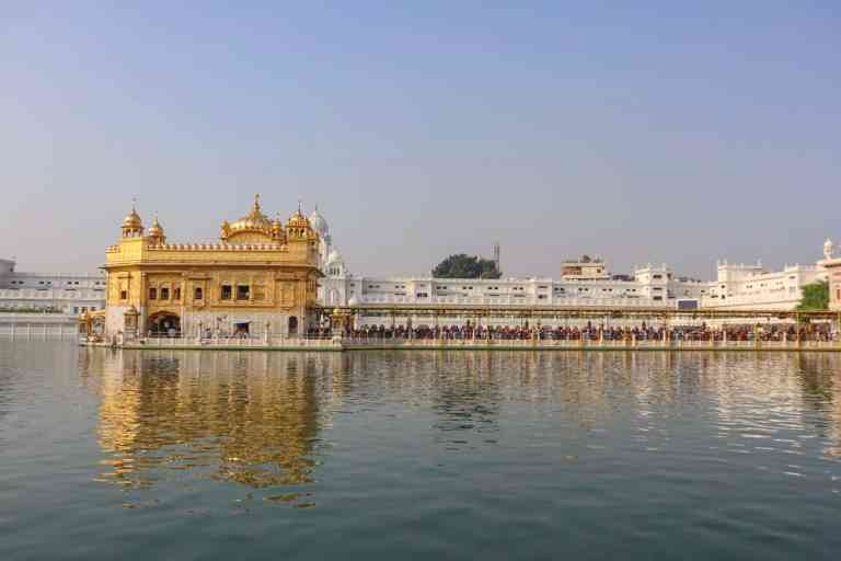 Golden Temple and Lake | best places to visit in India