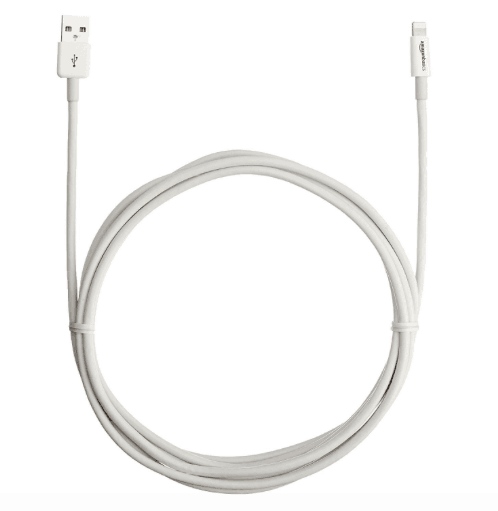 Extra long iPhone cable for travel