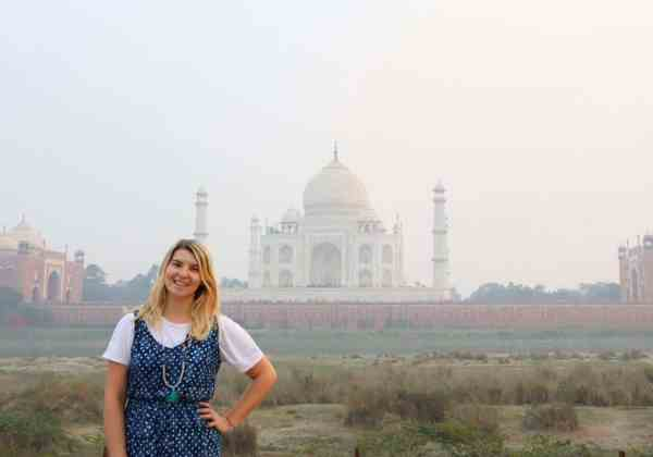 Mehtab Bagh View of Taj Mahal