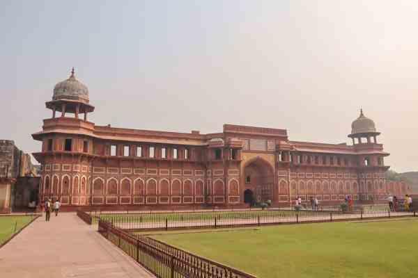 Agra Fort view of Taj Mahal