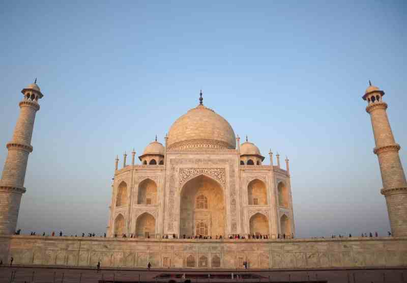2 month India itinerary, Taj Mahal at Sunrise