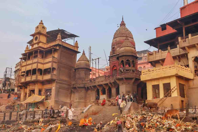 Varanasi itinerary, Varanasi Burning Ghats