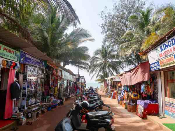 Patnem Beach Shops | Palolem Beach Guide