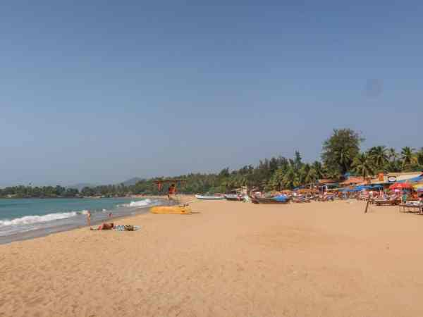 Palolem Beach for Backpackers Patnem Beach