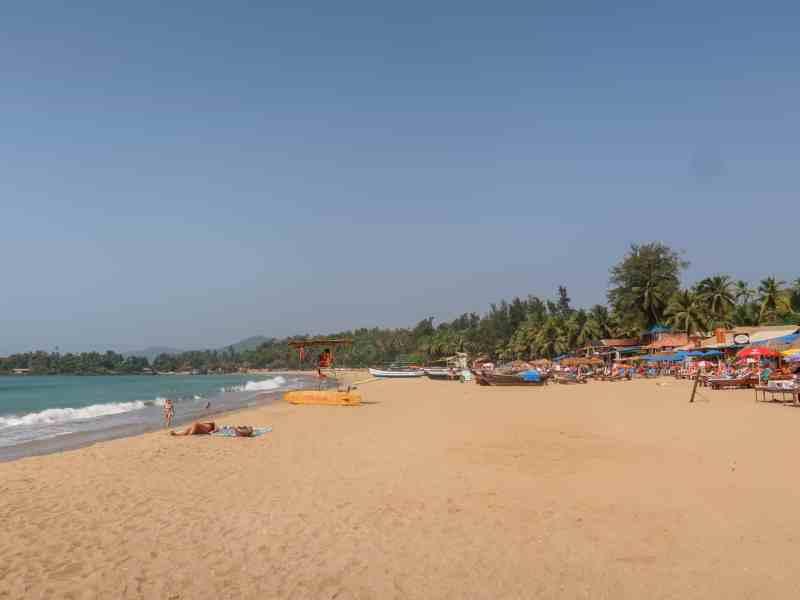 Patmen Beach | best beaches in Goa for foreigners