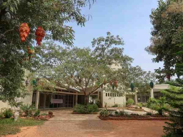 Auroville pavilion