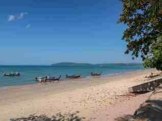 ao nang beach to railay boat