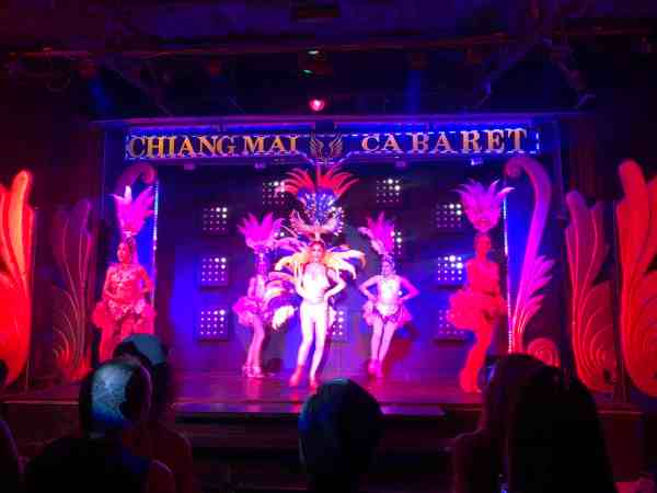 best things to do in Chiang Mai, lady boy cabaret