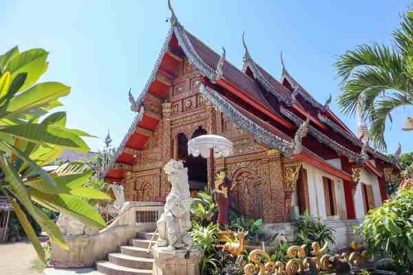 things to do in Chiang Mai Buddhist Temple