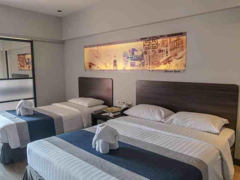 double bedroom bangkok | backpacking checklist