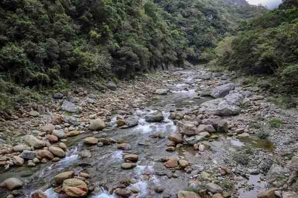 Hualien to Taroko Gorge, Taroko National Park Taiwan river
