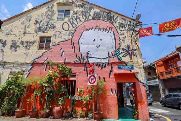 things to do in Melaka Malaysia street art