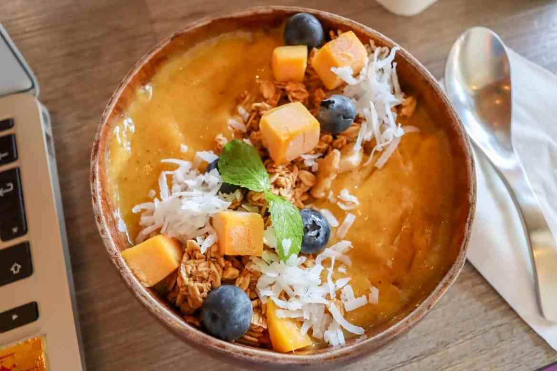things to do in Melaka Malaysia, smoothie bowl