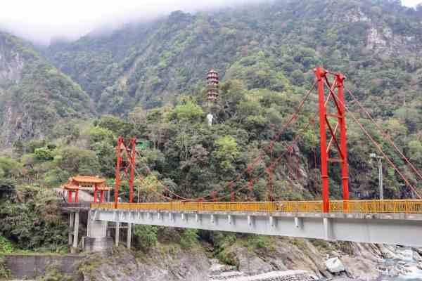 Taroko National Park Taiwan lushui trail
