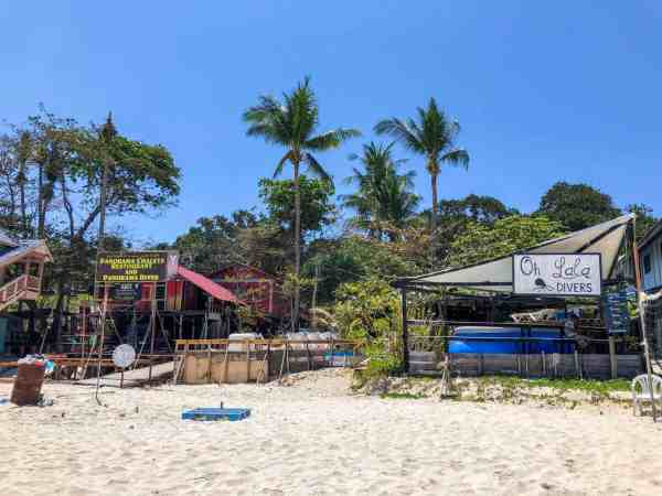 best dive schools and accommodation on perhentian islands long beach