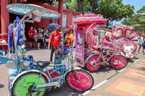 things to do in Melaka Malaysia tricycle