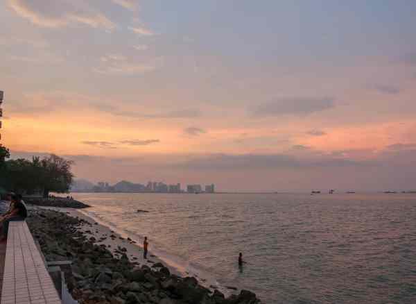 georgetown penang malaysia guide sunset