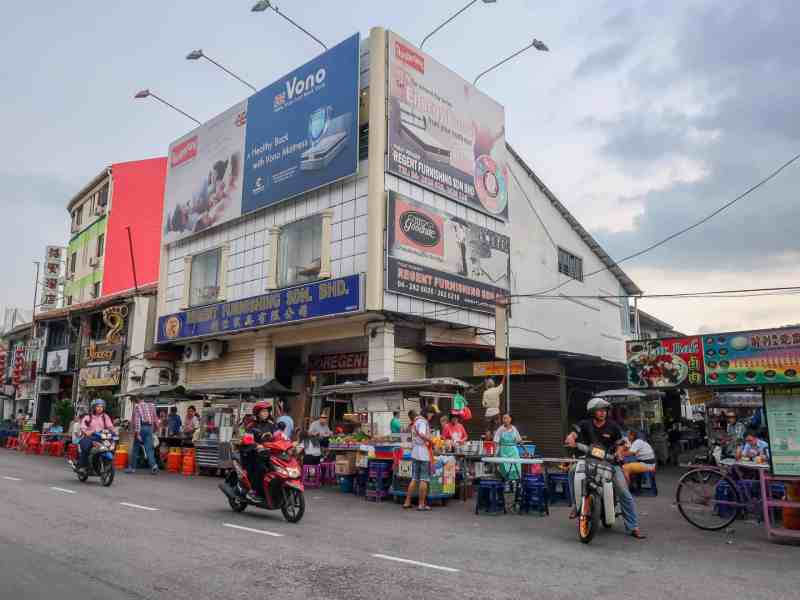things to do in Georgetown Malaysia, georgetown best street food