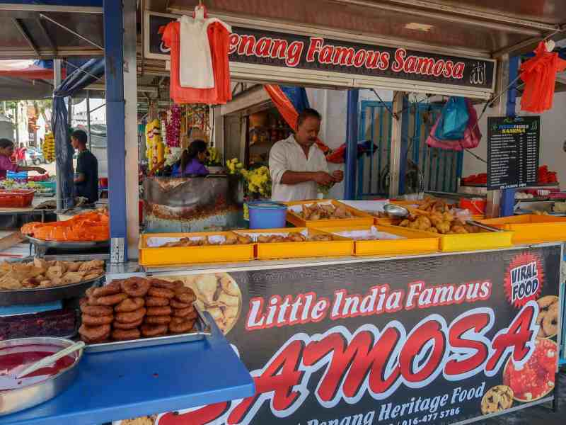 things to do in Georgetown Malaysia, georgetown street food little india