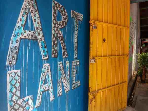 georgetown penang malaysia guide art lane