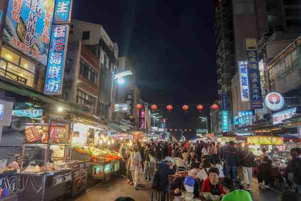 Liouhe Tourist Night Market kaohsiung night market