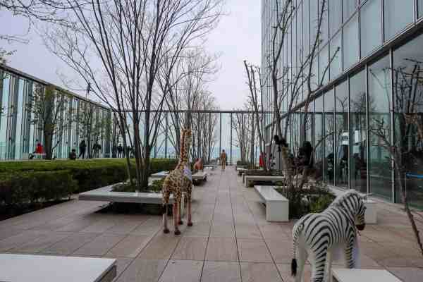 free things to do in Osaka Japan Abeno Harukas Art Museum Viewing Garden