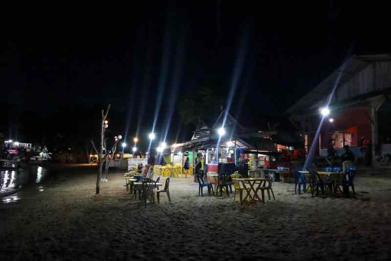 Small Perhentian Island Guide, Perhentian Kecil, BBQ