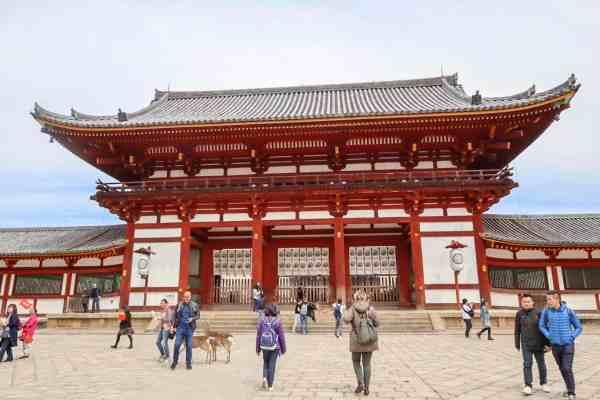 day trip to Nara from Kobe