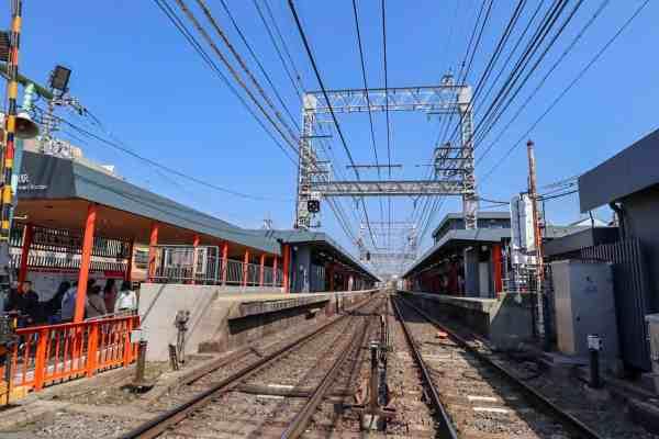Inari Shrine Railway Station