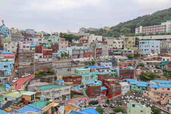 Gamcheon Culture Village in Busan view