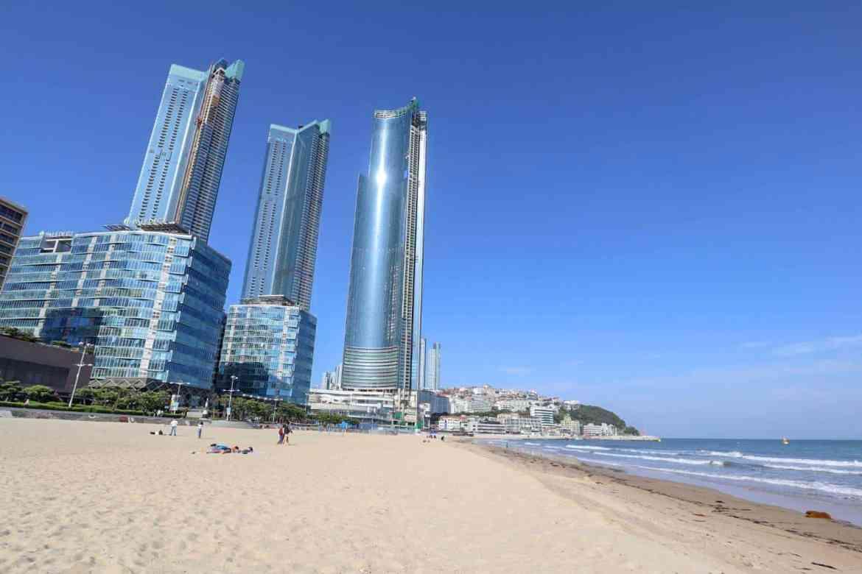 south korea itinerary, haeundae beach busan