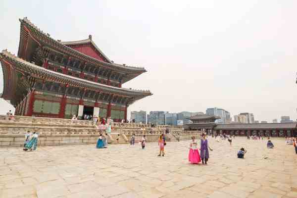 budget things to do in Seoul -Gyeongbokgung Palace Seoul
