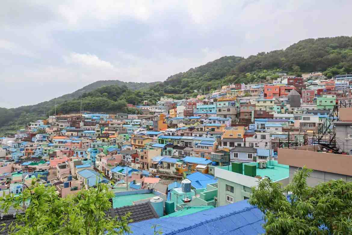 south korea itinerary, Gamcheon Culture Village in Busan