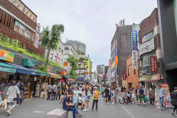 free things to do in Seoul - Insadong Shopping Street