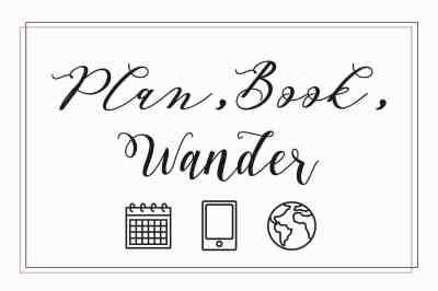 plan book wander - trip planning service