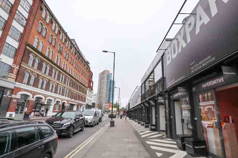 places to visit in Shoreditch Boxpark Shoreditch