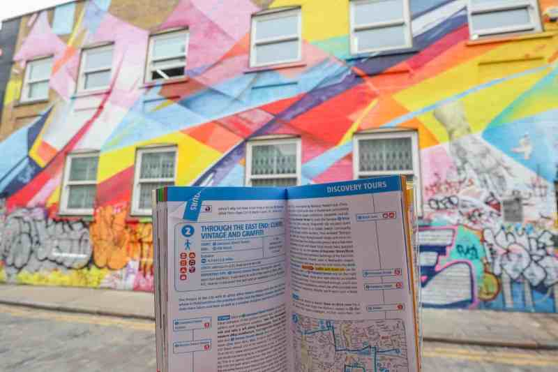 places to go in Shoreditch, Chance Street Street Art with London Marco Polo Guide