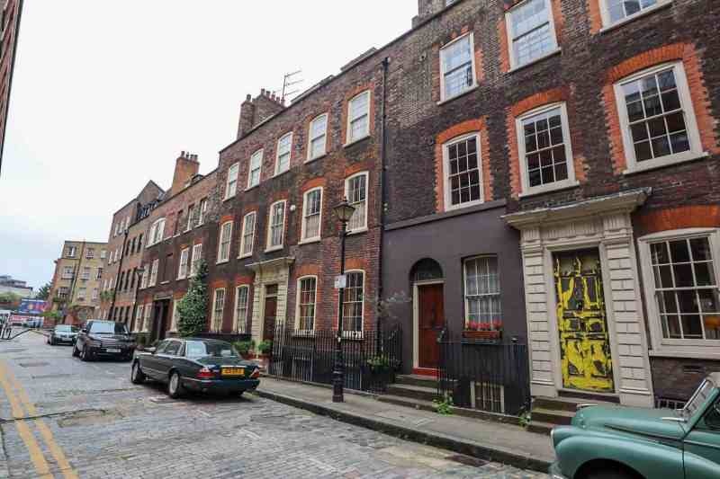 places to go in Shoreditch, Elder Street Old Buildings