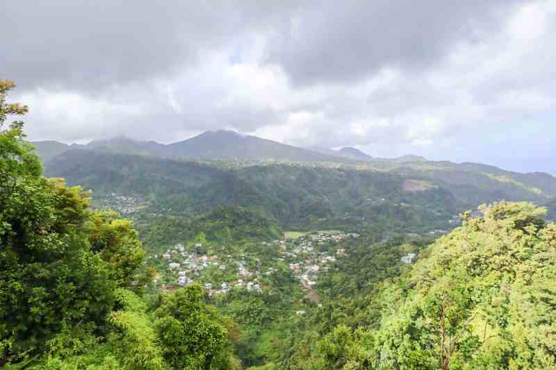dominica day tours, mountains of dominica