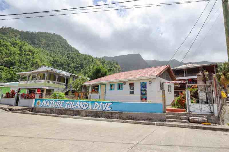 nature island dive shop in dominica | dominica day tours
