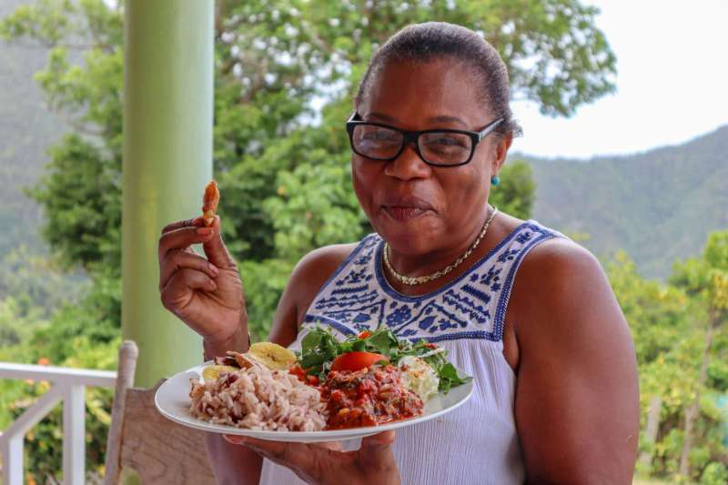 dominica travel guide, daria from cooking caribbean with food