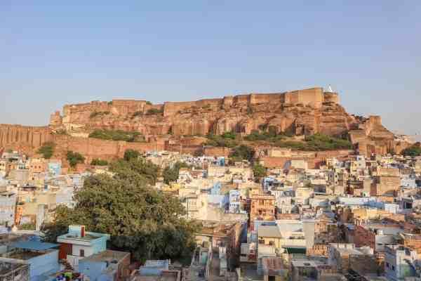 View of jodhpur fort