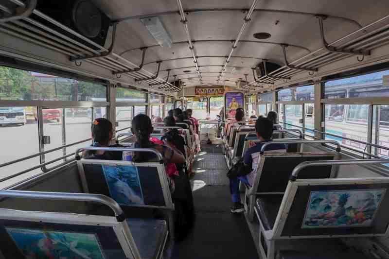Public Bus from Dambulla to Sigiriya | Negombo to Sigiriya by bus