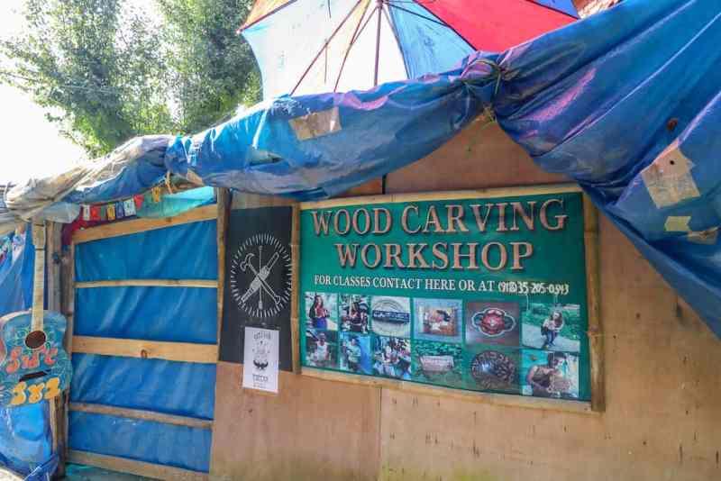 Wood work class in Upper Bhagsu | things to do in Bhagsu