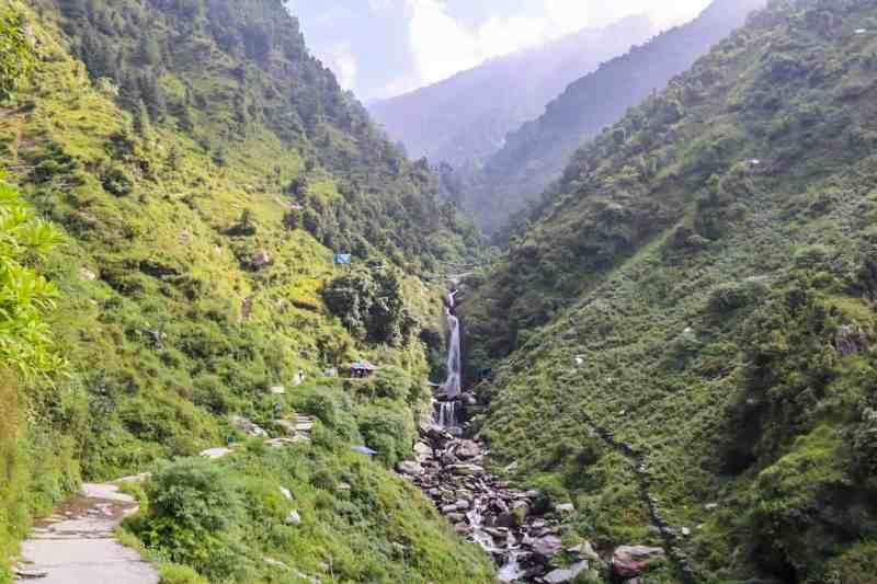 Bhagsu Water Falls Views | things to do in bhagsu