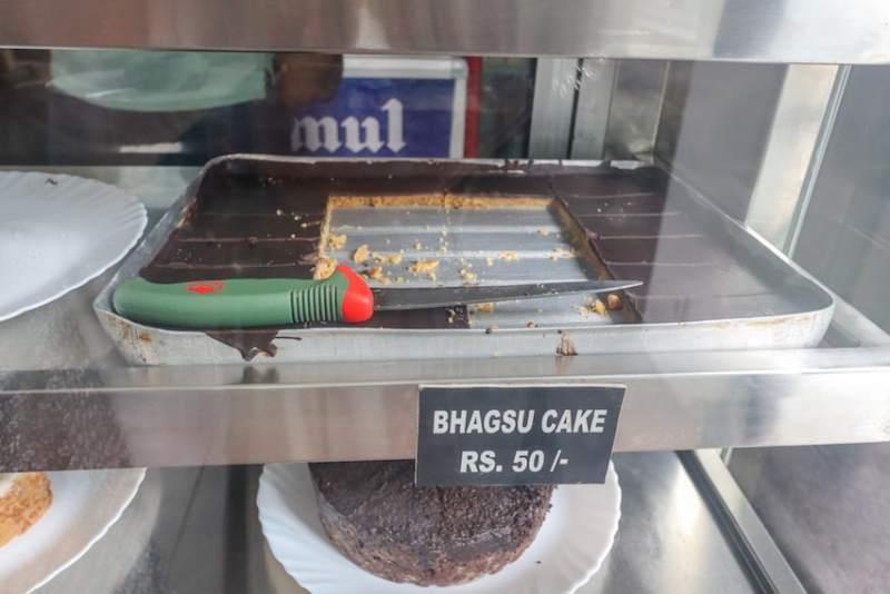 Bhagsu Cake from German Bakery in Bhagsu | things to do in Bhagsu