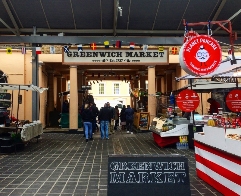 Greenwich market stalls | things to do in london in winter