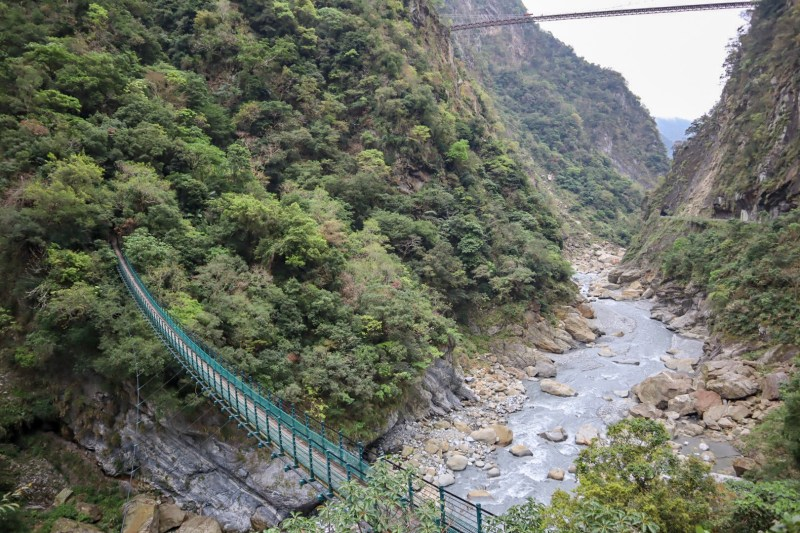 river and rocks at Taroko Gorge | places to visit in Taiwan